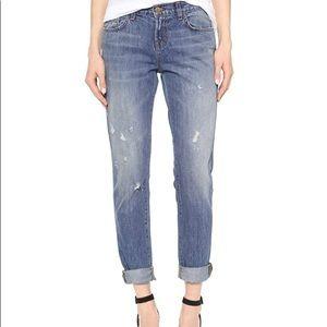 J Brand Distressed Boyfriend Jeans